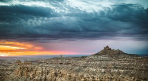 Search For Fossils And Explore 10,000 Acres Of Incredible Terrain At Angel Peak Scenic Area In New Mexico