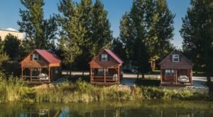 Caboose Lake Is The One-Of-A-Kind Campground In Indiana That You Must Visit Before Summer Ends