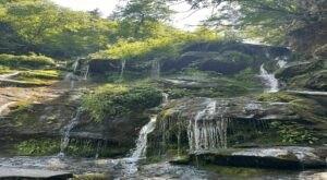 Take A Magical Waterfall Hike In North Carolina To Catawba Falls, If You Can Find It