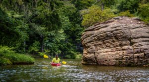 The Best Kayaking Lake In Kentucky Is One You May Never Have Heard Of