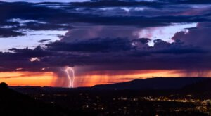 July 2021 Is Among The Rainiest Months On Record In Arizona… And Monsoon Season Isn't Over Yet