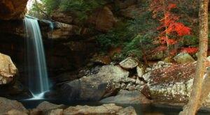 Plan A Visit To Eagle Falls, Kentucky's Beautifully Blue Waterfall