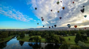 Idaho's Popular Spirit Of Boise Balloon Festival Returns This Year For A 5-Day Extravaganza
