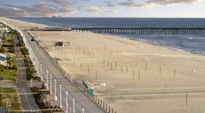 Walk Or Ride Alongside The Ocean On The 3-Mile Virginia Beach Boardwalk