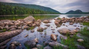 The Hike To Maine's Pretty Little Jordan Pond Is Short And Sweet