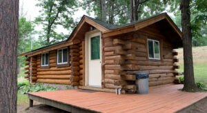 Log Cabin Resort & Campground In Wisconsin May Just Be Your New Favorite Destination