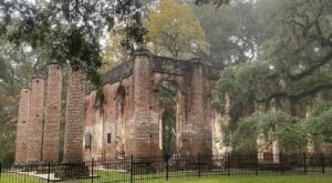 Visit These Fascinating Church Ruins In South Carolina For An Adventure Into The Past
