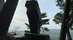 Hike To A Natural Treasure While You Still Can On Wisconsin's Balanced Rock Trail