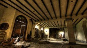 From Apartment Buildings To Post Offices, Explore Abandoned Buildings Galore In Gary, Indiana