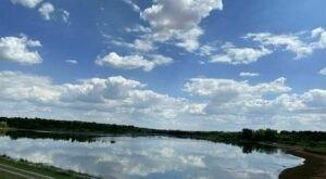 Nebraska's Walnut Creek Lake Trail Leads To A Magnificent Hidden Oasis