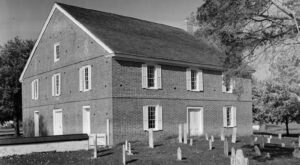 Barratt's Chapel Was Built In Delaware In 1780 And It's One Of The Oldest Churches In The Country