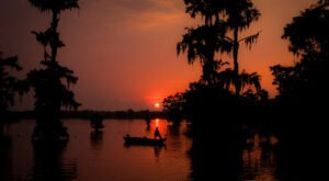 The Sunrises At This Lake In Louisiana Are Worth Waking Up Early For