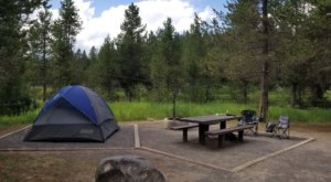 Every Campsite At Upper Coffee Pot Campground In Idaho Boasts A View Of Henrys Fork Of The Snake River