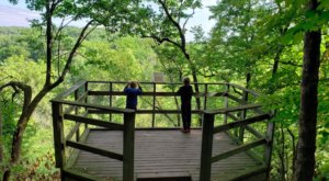 6 Miles Of Hiking Trails Await Visitors At Minnesota's Carley State Park, Tucked Away Among Rivers And Bluffs