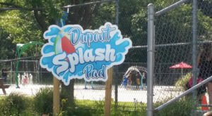 There's A Beach Themed Playground And Splash Pad In New Hampshire Called Dupont Splash Pad