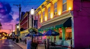 Enjoy Front Row Views Of The Ohio River And Local Bistro Cuisine At Front Street Cafe