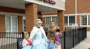 Have Tea In Cinderella's Carriage At The Macaron Tea Room And Bakery In Ohio