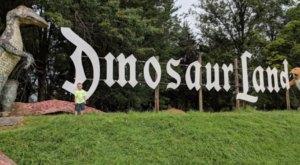 There's A Dinosaur-Themed Park In Virginia Called Dinosaur Land