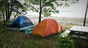 Relax To The Sound Of The Water In Maine With A Stay At This Oceanfront Campground With Cabins