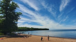 This Secluded Beach In Minnesota Might Just Be Your New Favorite Swimming Spot