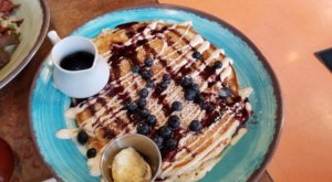 Treat Yourself To Massive, 13-Inch Pancakes At Over Easy Morning Cafe In Ohio