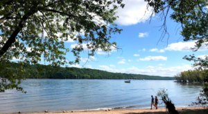 Find A Hidden Summer Oasis When You Take A 1/2-Mile Hike Through The Woods To Reach The Sandy Beach At Afton State Park In Minnesota
