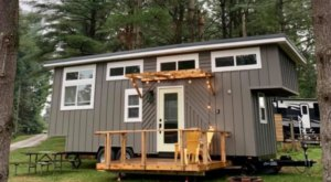 Have A Big Adventure When You Rent A Tiny House In Ohio's Breathtaking Hocking Hills
