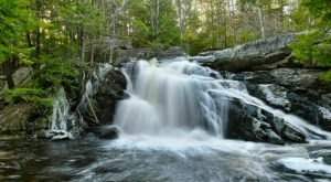 Discover 3 Beautiful New Hampshire Waterfalls On A Single Hike At The Purgatory Falls Trail