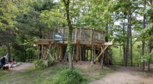 Harris Nature Center Is A Scenic And Creative Spot In Michigan Where Imagination Is Everything