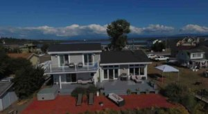 A Private Dock And Hot Tub Await You At This Waterfront Abode In Washington