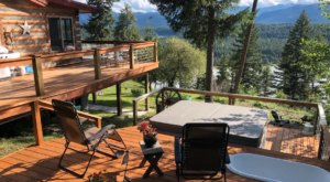 Enjoy A Hot Tub, Outdoor Massage Table, And Endless Serenity At This Peaceful Montana Home