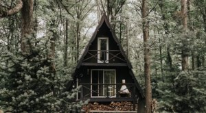 Stay The Night In A Charming And Modern A-Frame Cabin In The Heart Of Ohio's Amish Country