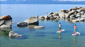 Paddle By Natural Hot Springs And Into Crystal Bay On This Lake Tahoe Tour In Northern California