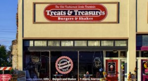 For A True Old-Fashioned Soda Fountain, Visit Treats And Treasures In Small Town Oklahoma