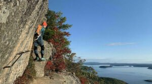 Recently Named One Of The Best Hikes In America, Completing The Precipice Trail In Maine Is A Fabulous Accompishment