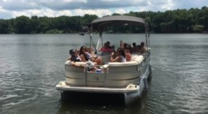 Cruise Ohio's Portage Lakes Aboard This One-Of-A-Kind Pontoon Charter Service