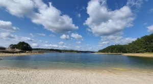 Cool Off This Summer In Some Of The Clearest Water In Kentucky At Laurel River Lake's Spillway Beach