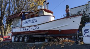 Some Of The Best Crispy Fried Seafood In Oregon Can Be Found At Bowpicker Fish And Chips