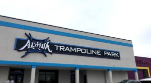 Bounce The Day Away On Over 45,000 Square Feet Of Trampolines At Altitude Trampoline Park In Nashville