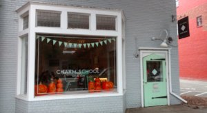 The Ice Cream Scoops Are Piled High At Charm School, A Must-Try Dessert Shop In Virginia
