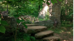 Take This 1.8-Mile Hike Through The Woods To Discover The Ruins Of An Old Rock House In North Carolina