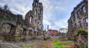 You'll Marvel At The Undeniable Beauty Of The Ruins Of Great Falls Mill In North Carolina