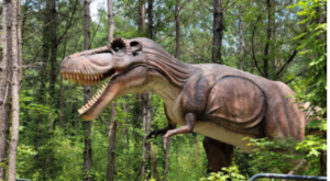 North Carolina's Only Dinosaur Trail Is A Thrilling Walk Through Prehistoric Times
