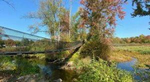The Exhilarating Swinging Bridge Hike In Connecticut That Everyone Must Experience At Least Once