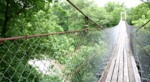 The Exhilarating Pawhuska Swinging Bridge In Oklahoma That Everyone Must Experience At Least Once