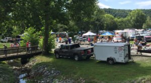 This Massive West Virginia Flea Market Is Also Home To A Historic Natural Spring