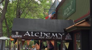The Food, Drinks, & Atmosphere Will Take You By Surprise As Soon As You Walk Into Alchemy in Colorado