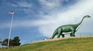 There's A Dinosaur-Themed Park In South Dakota Called Dinosaur Park