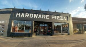 What Was Once A Historic Hardware Store In Georgia Is Now A Petite Pizza Parlor