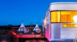 One Of The Coolest Vintage Airstream Resorts In The U.S. Can Be Found Right Here In Texas